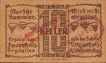 Austria, 10 Heller, FS 327Ie
