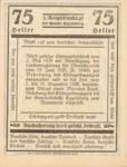 Austria, 75 Heller, FS 160IIa