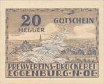 Austria, 20 Heller, FS 163