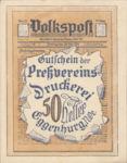 Austria, 50 Heller, FS 163