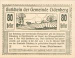 Austria, 80 Heller, FS 168Ia2