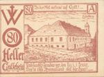 Austria, 80 Heller, FS 168Ib1