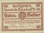 Austria, 10 Heller, FS 178a
