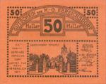 Austria, 50 Heller, FS 147