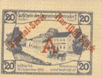 Austria, 20 Heller, FS 178c