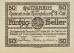 Austria, 50 Heller, FS 178c