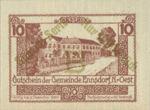 Austria, 10 Heller, FS 178d