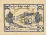 Austria, 20 Heller, FS 178d