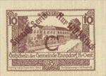 Austria, 10 Heller, FS 178e