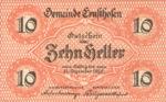 Austria, 10 Heller, FS 184b