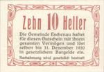 Austria, 10 Heller, FS 186a
