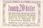 Austria, 20 Heller, FS 186c