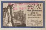 Austria, 40 Heller, FS 200IIIa