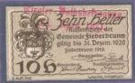 Austria, 10 Heller, FS 200IIIb