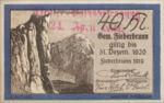 Austria, 40 Heller, FS 200IIIb