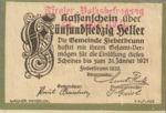 Austria, 75 Heller, FS 200IIIc