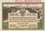 Austria, 99 Heller, FS 200IIIc