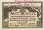 Austria, 99 Heller, FS 200IIId