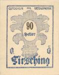 Austria, 90 Heller, FS 201Ic