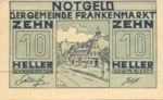 Austria, 10 Heller, FS 209a