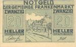 Austria, 20 Heller, FS 209a