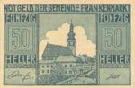 Austria, 50 Heller, FS 209a