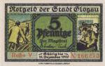 Germany, 5 Pfennig, G20.6b