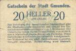Austria, 20 Heller, FS 240I