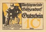 Austria, 10 Heller, FS 246IIf
