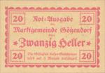 Austria, 20 Heller, FS 246IIf