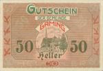 Austria, 50 Heller, FS 220b