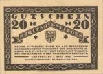 Austria, 20 Heller, FS 240III