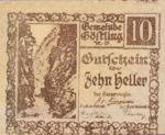 Austria, 10 Heller, FS 243ax