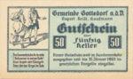 Austria, 50 Heller, FS 254