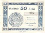 Austria, 50 Heller, FS 276Vb