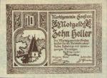 Austria, 10 Heller, FS 278Ib