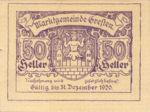 Austria, 50 Heller, FS 278Ia
