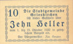 Austria, 10 Heller, FS 288II38