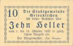 Austria, 10 Heller, FS 288II33