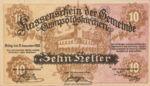 Austria, 10 Heller, FS 308a