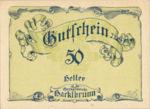 Austria, 50 Heller, FS 323IIb