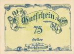 Austria, 75 Heller, FS 323IIb