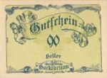 Austria, 90 Heller, FS 323IIb