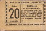 Austria, 20 Heller, FS 257
