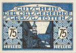 Austria, 75 Heller, FS 293IIb