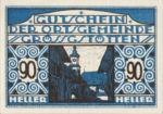 Austria, 90 Heller, FS 293IIb