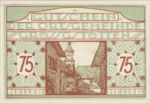 Austria, 75 Heller, FS 293IIc