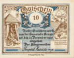 Austria, 10 Heller, FS 292e6r