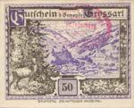 Austria, 50 Heller, FS 292f5r