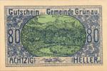 Austria, 80 Heller, FS 300c